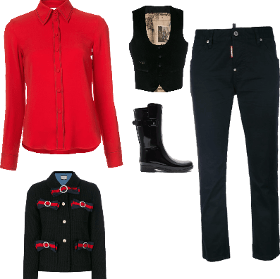 Seth's Outfit (Red Army Casual)