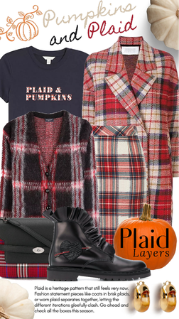plaid & pumpkins