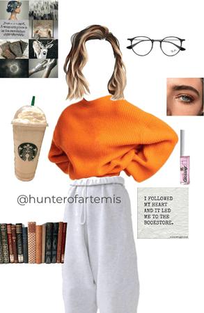 Outfit in honour of @hunterofartemis