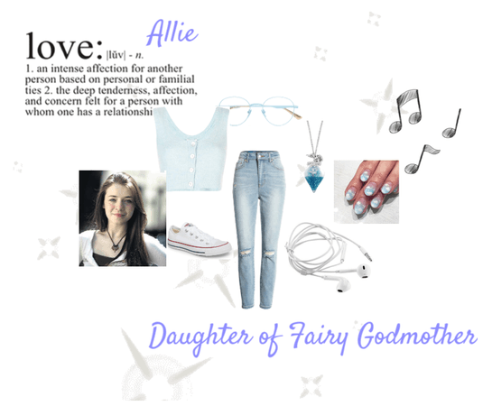 allie - daughter of fairy godmother