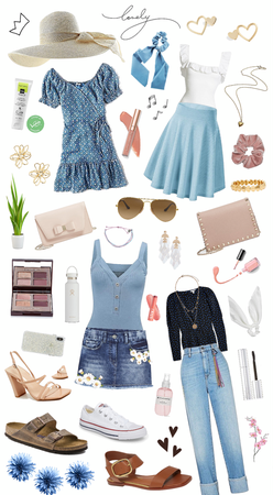Blue Summer Aesthetic