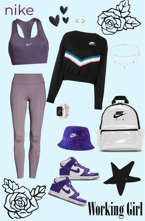 purple athletic💜