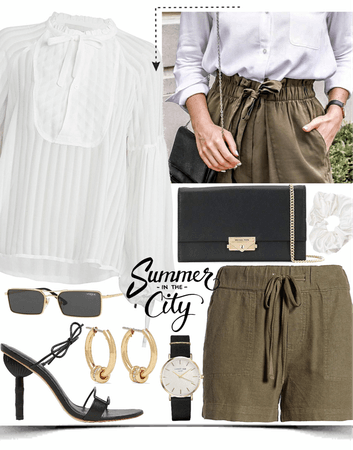 elegance summer look