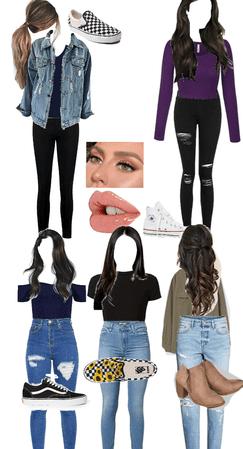 school week outfits
