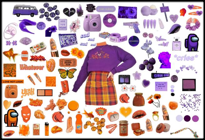 orange and purple challenge