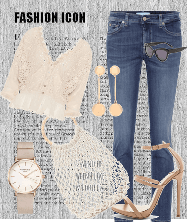 casual upstyled