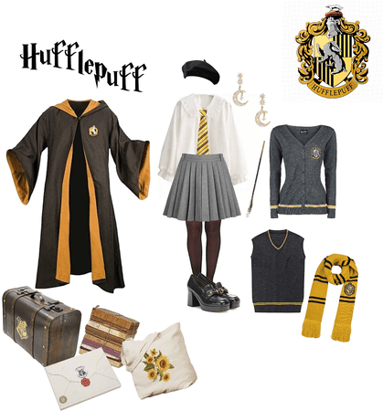 Harry Potter Hufflepuff costume