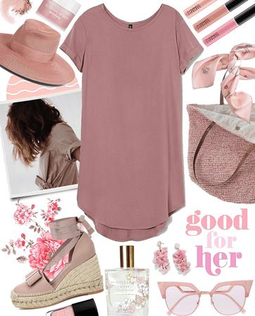 rosiest tee dress