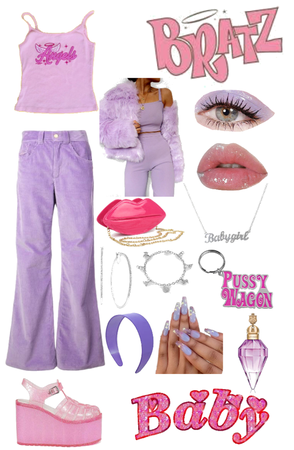 Bratz Inspired Outfit