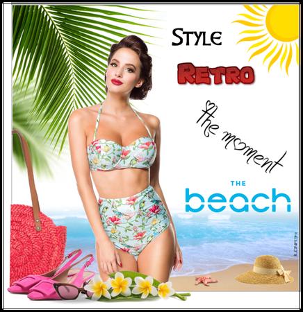 Vintage Bikini - Retro Two Piece Swimsuit
