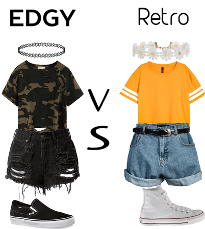 Edgy vs Retro