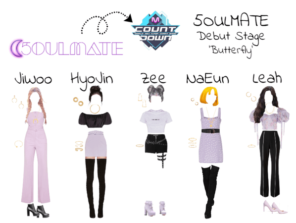 5OULMATE Debut Stage Butterfly