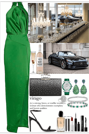 a classy occasion look
