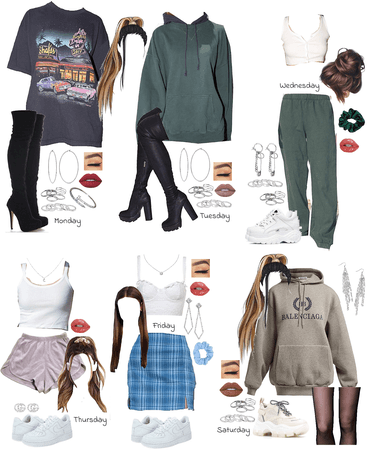 outfits of the week !!