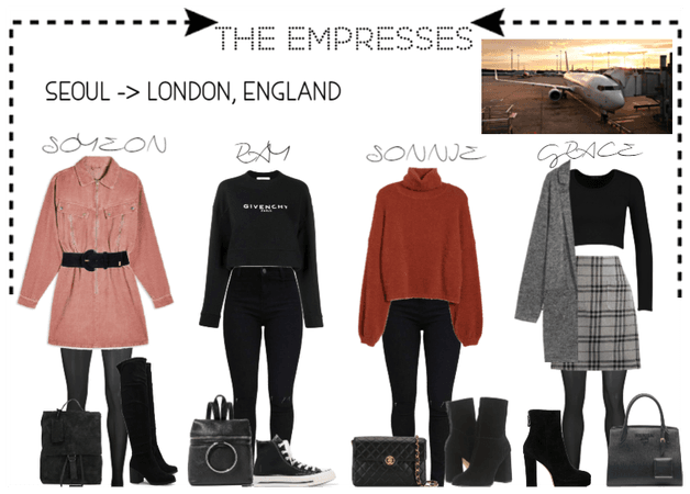 [THE EMPRESSES] TRAVELS: SEOUL TO LONDON