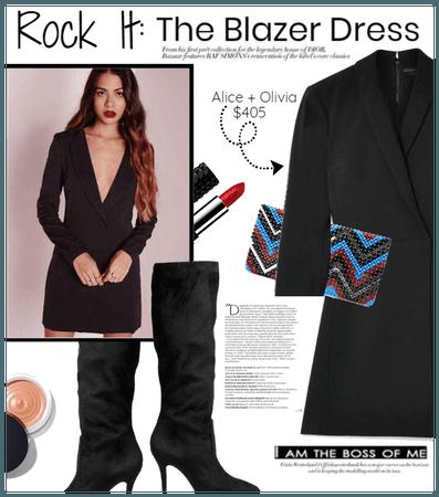 Rock It: Blazer Dress