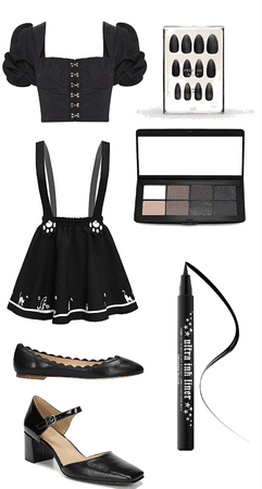 Cute Black Spring Outfit