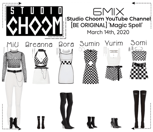 《6mix》Studio Choom YouTube Video