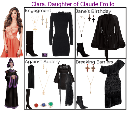 Clara. Daughter of Claude Frollo. Descendants 3