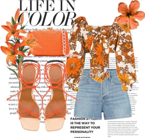 Orange Luxe