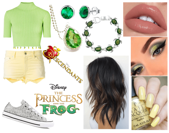 Daughter of Tiana and Naveen