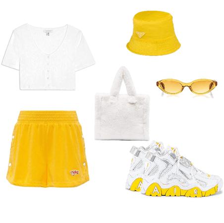 yellow inspired