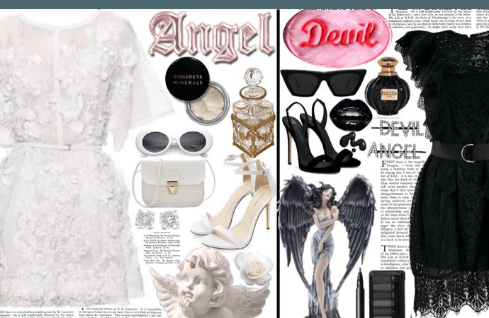 angel and devil - bffs