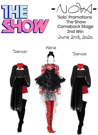 -NOVA- 'Solo' The Show Stage
