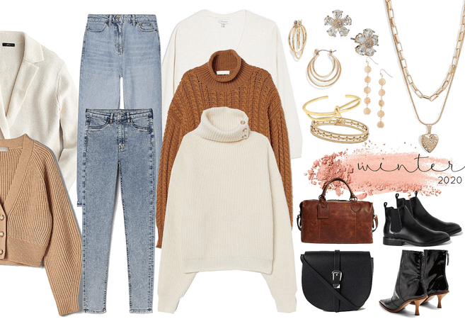 winter business casual - simple neutrals