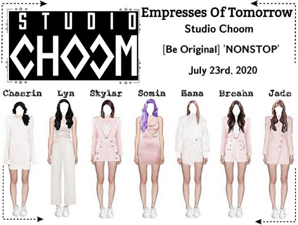 EOT(내일의 황후) | Studio Choom: 'NONSTOP' Performance