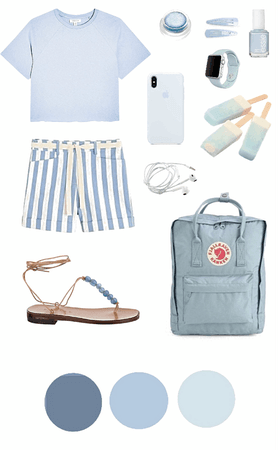 Muted Pastels Look: Blue