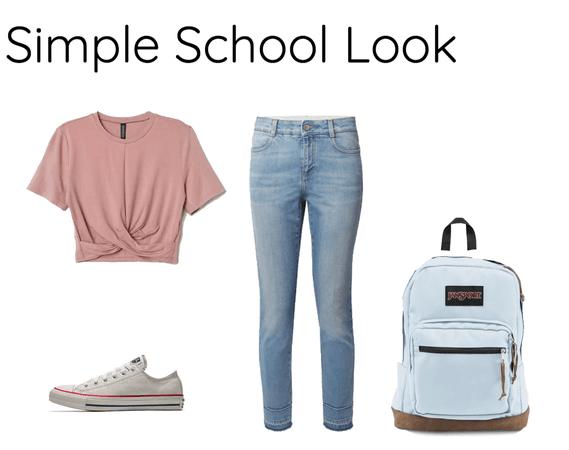 Simple School Look