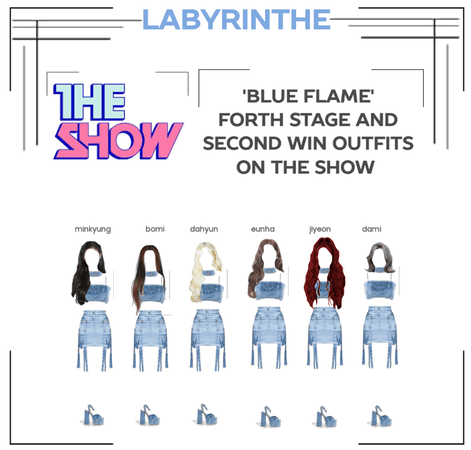 LABYRINTHE BLUE FLAME FORTH STAGE second win