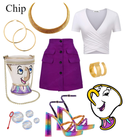 Chip outfit - Disneybounding