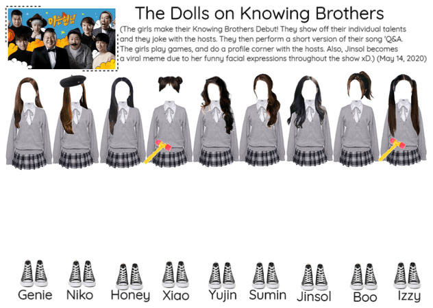 The Dolls on Knowing Brother (Q&A Era)