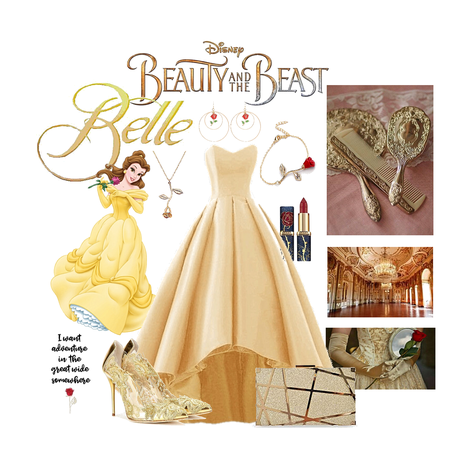 favourite Disney character: Belle 🌹 from beauty and the beast.