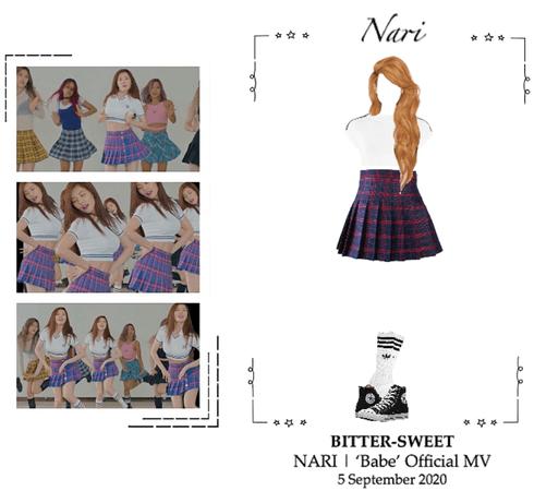 BITTER-SWEET [비터스윗] (NARI) 'Babe [배배]' Official MV 200905