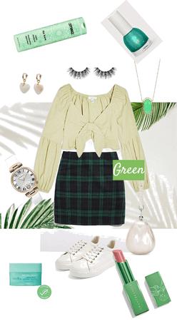 Green tea fashion