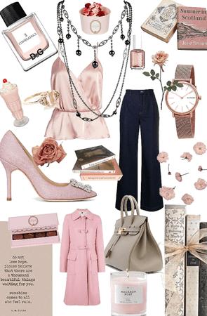 Une journée en rose
