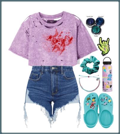 Zombie VSCO girl