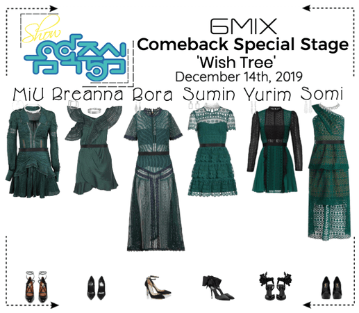 《6mix》Show! Music Core Special Stage 'Wish Tree'
