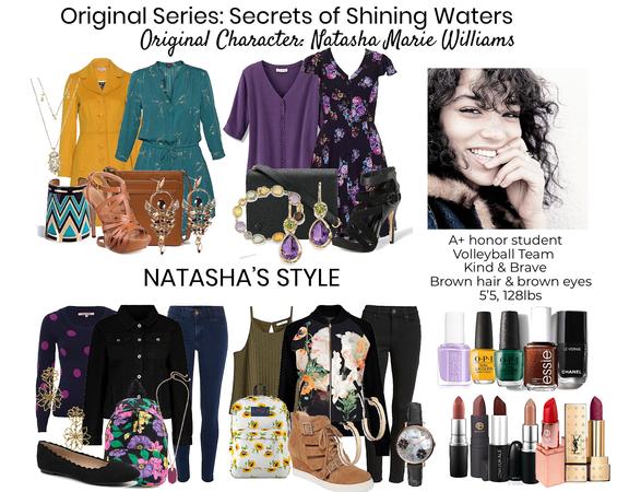 Os secrets of shining waters oc Natasha Williams