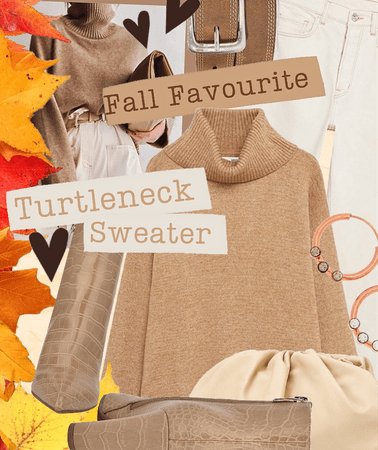 fall favourite: turtleneck sweater
