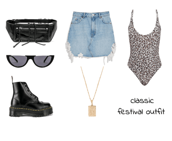 classic festival outfit