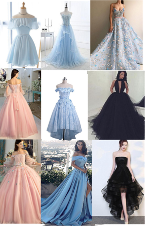 choose your prom dress 😙 part 1