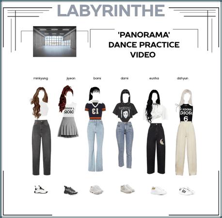 LABYRINTHE PANORAMA DANCE PRACTICE VIDEO
