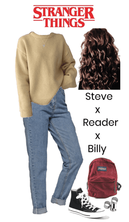 Stranger Things: Steve x Reader x Billy