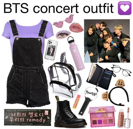 bts concert outfit!