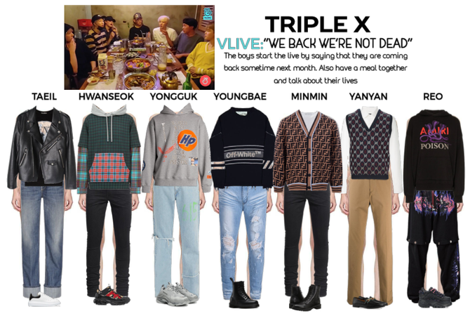 {TRIPLE X} VLive App Update