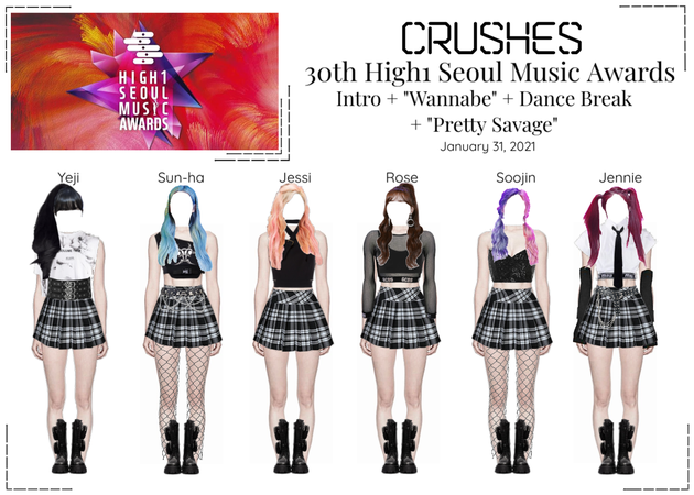 Crushes (호감) 30th High1 Seoul Music Awards